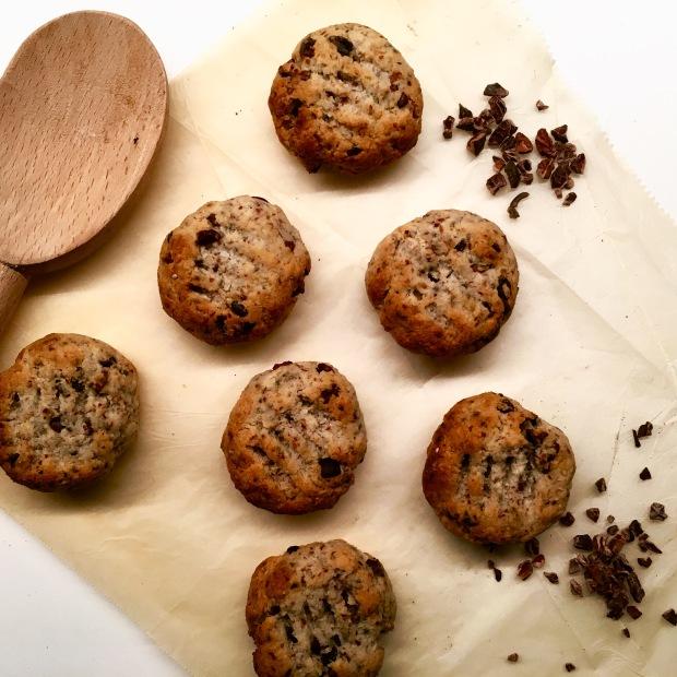 Tahini Almond Meal Cookies
